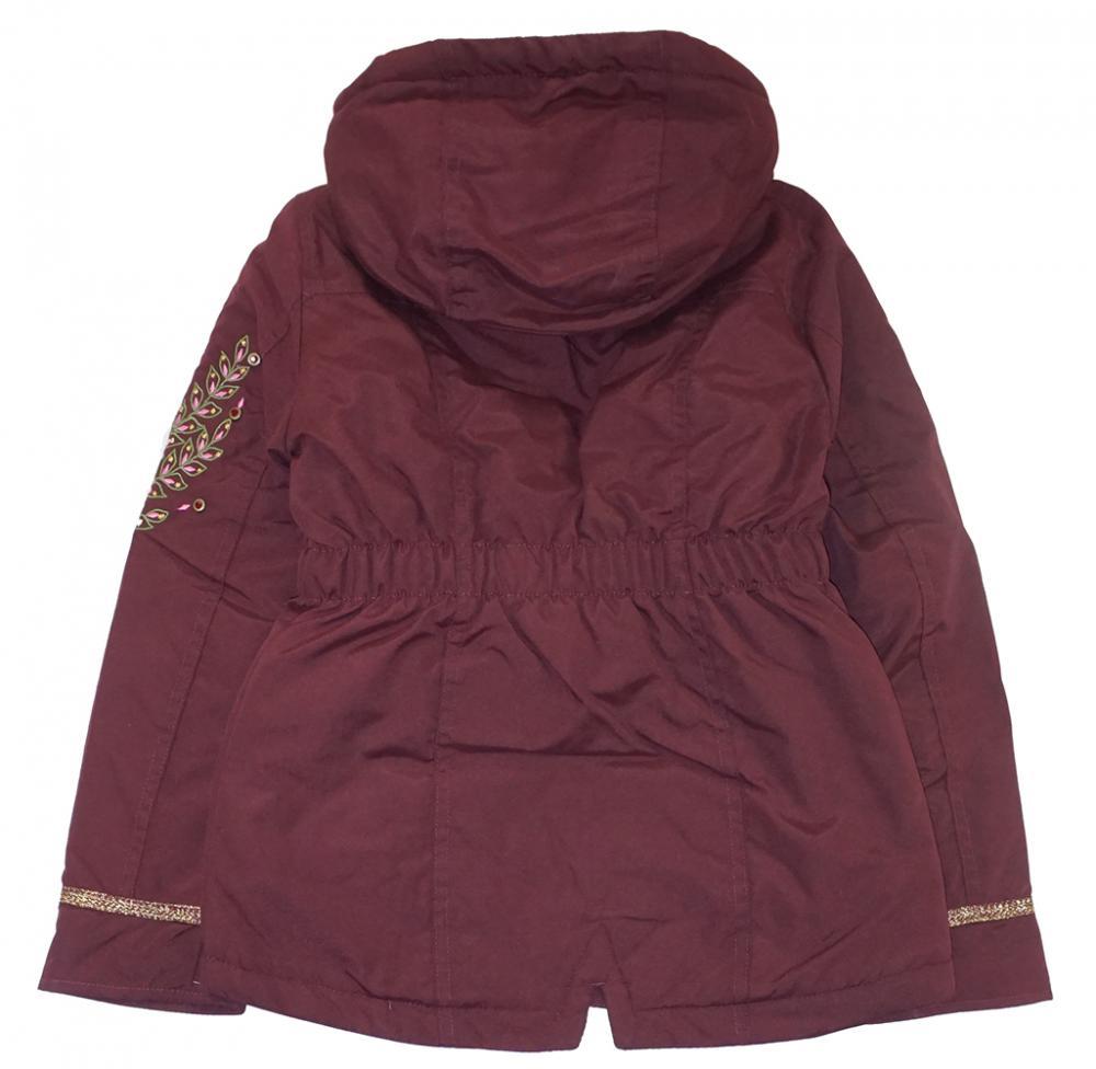 46b42dd0bdc0 Jessica Simpson Big Girls Burgundy Mid-Weight Anorak Jacket Size 7 8 ...