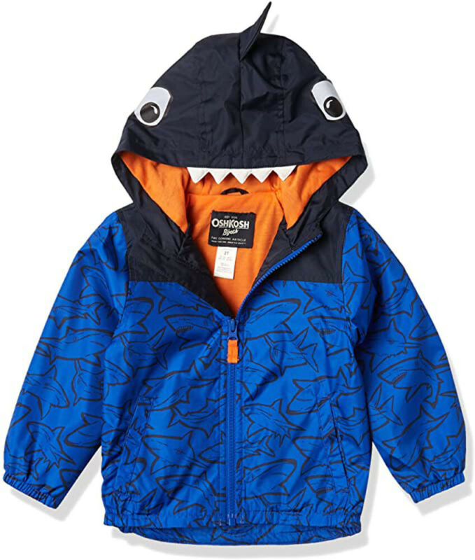 Osh Kosh B/'gosh Girls Navy Cat Fleece Lined Jacket Size 2T 3T 4T 4 5//6 6X