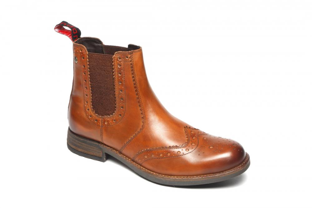Catesby Waterproof Brown Leather Chelsea Dealer Boots Sizes 7 to 12
