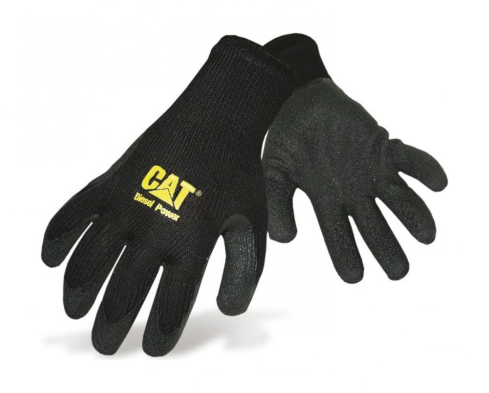 Cat Caterpillar Thermal Knitted Gripper Work Gloves Ebay