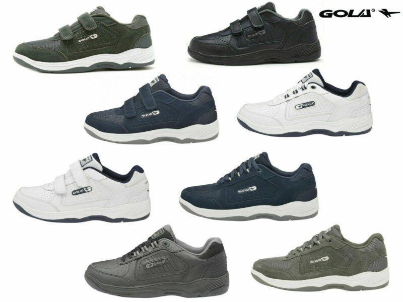 Mens Gola Belmont Trainers Wide Fit EE
