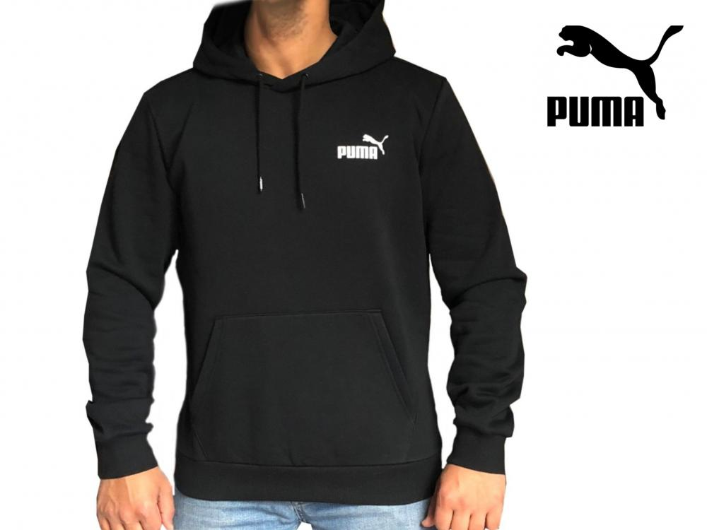 Nouvelle liste le moins cher classique Details about Mens Puma Hoodie Sweatshirt 'ESS' Pull Over Jumper Sports Gym  Training Hoody