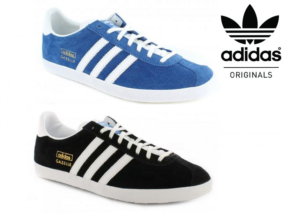 hot sale online c51cc f5609 Adidas Gazelle OG Retro Classic Lace Up Trainers Sneakers Sports Fashion  Shoes