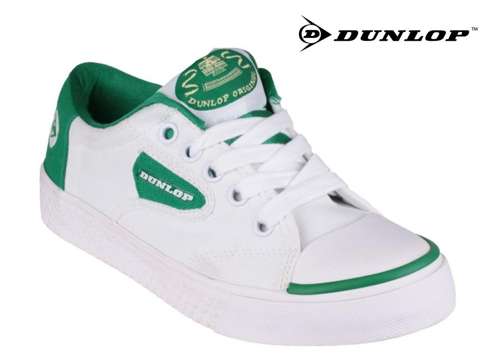 Dunlop Green Flash Trainers Mens Boys