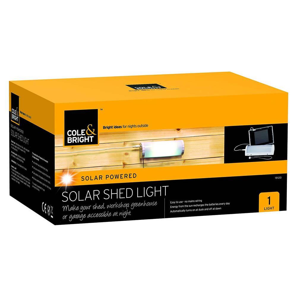 Cole Bright Solar Shed Light 53163454050 Ebay Power For A Detached Garage Greenhouse Or Workshop Part 1