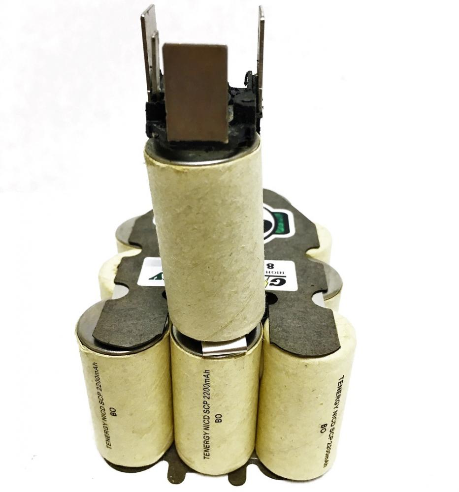bosch 14 4 volt battery replacement internals tenergy 2 2ah nicd ebay. Black Bedroom Furniture Sets. Home Design Ideas