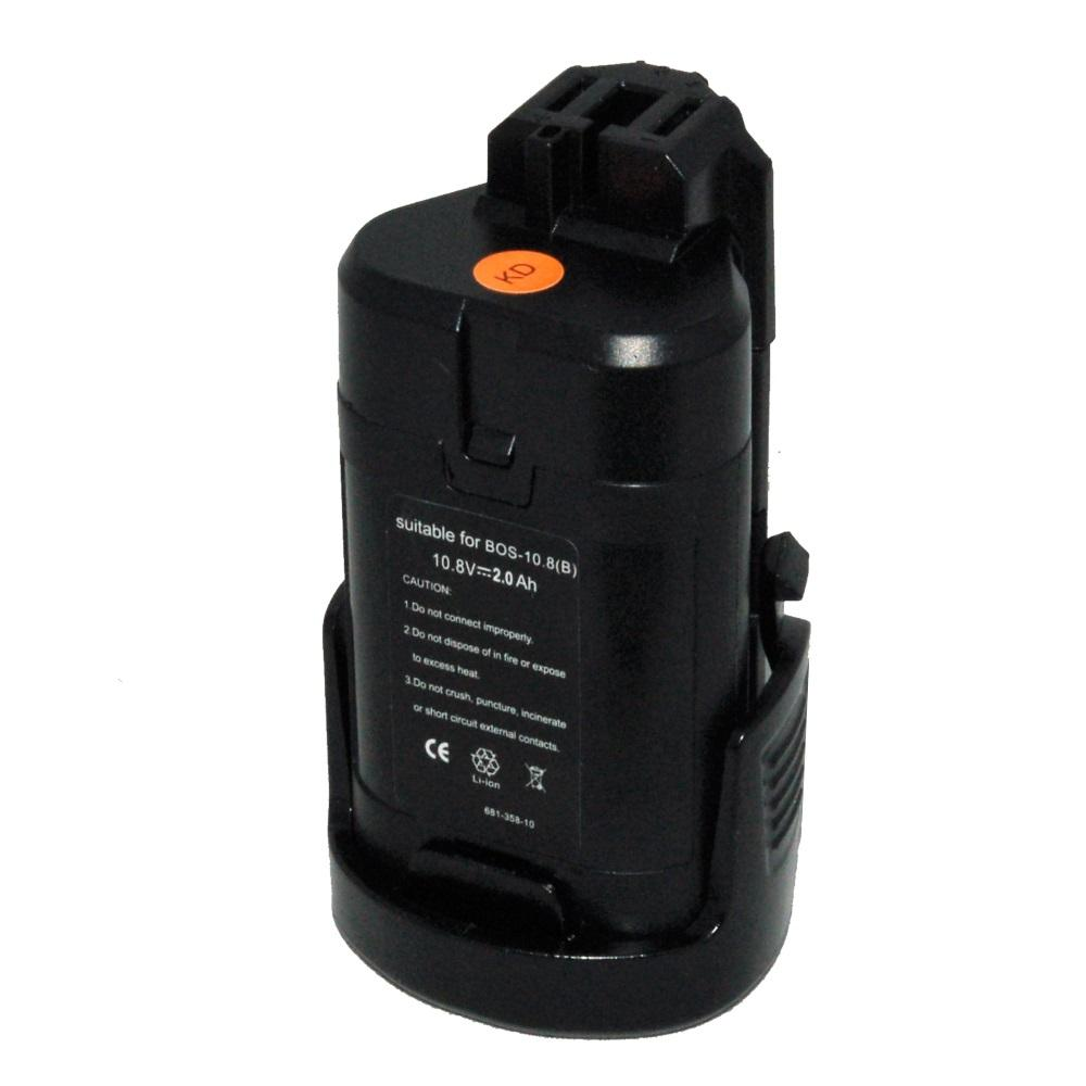G C Battery Replacement For Bosch 10 8v 2 0ah Lithium