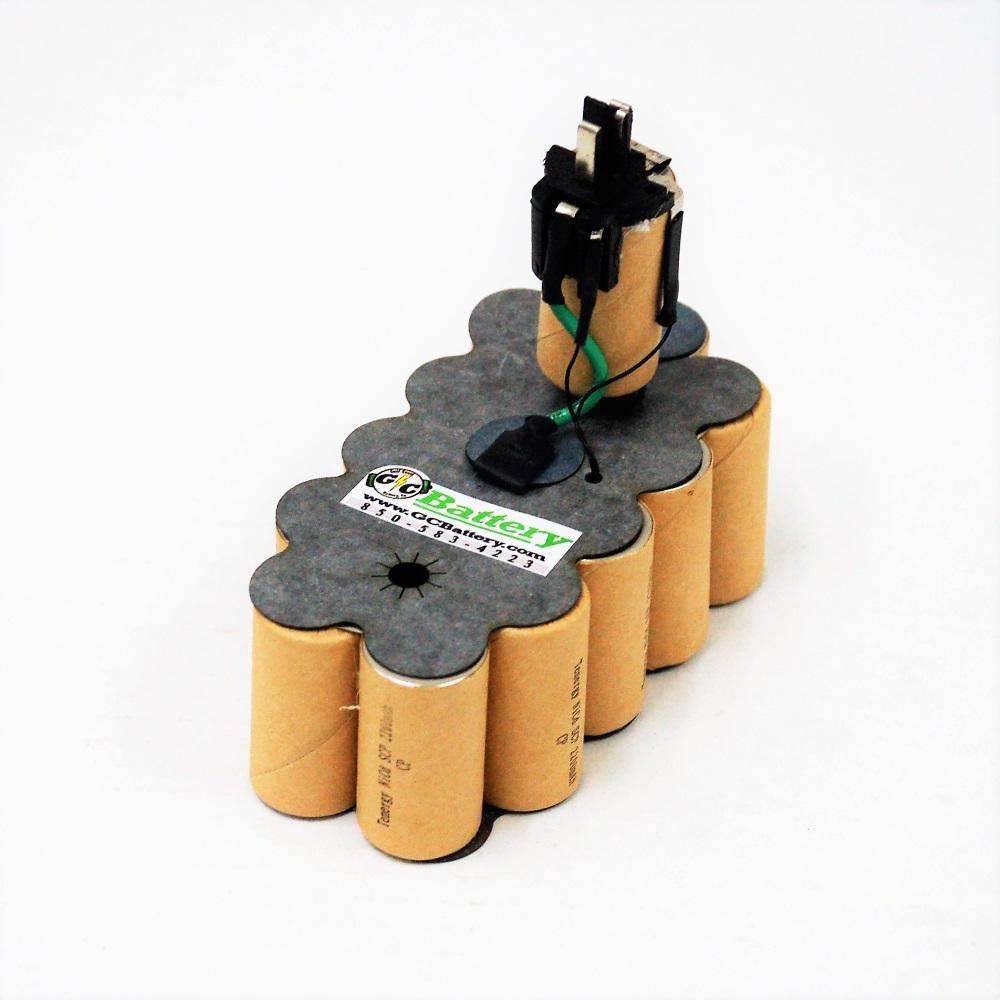 DeWALT 18 Volt DW9095 XR2 UPGRADED Battery Internals ...