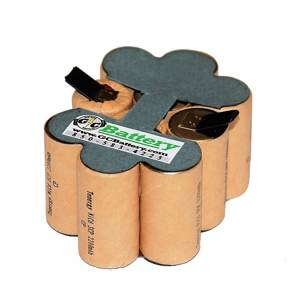 Porter Cable 12 Volt 8623 Battery Diy Repack Kit Tenergy