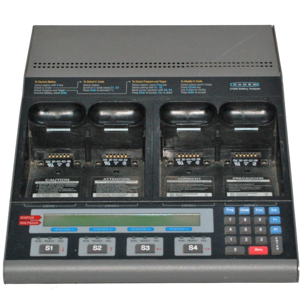 13742 Cadex Electronics C7000-1 4 Station Battery Analyzer