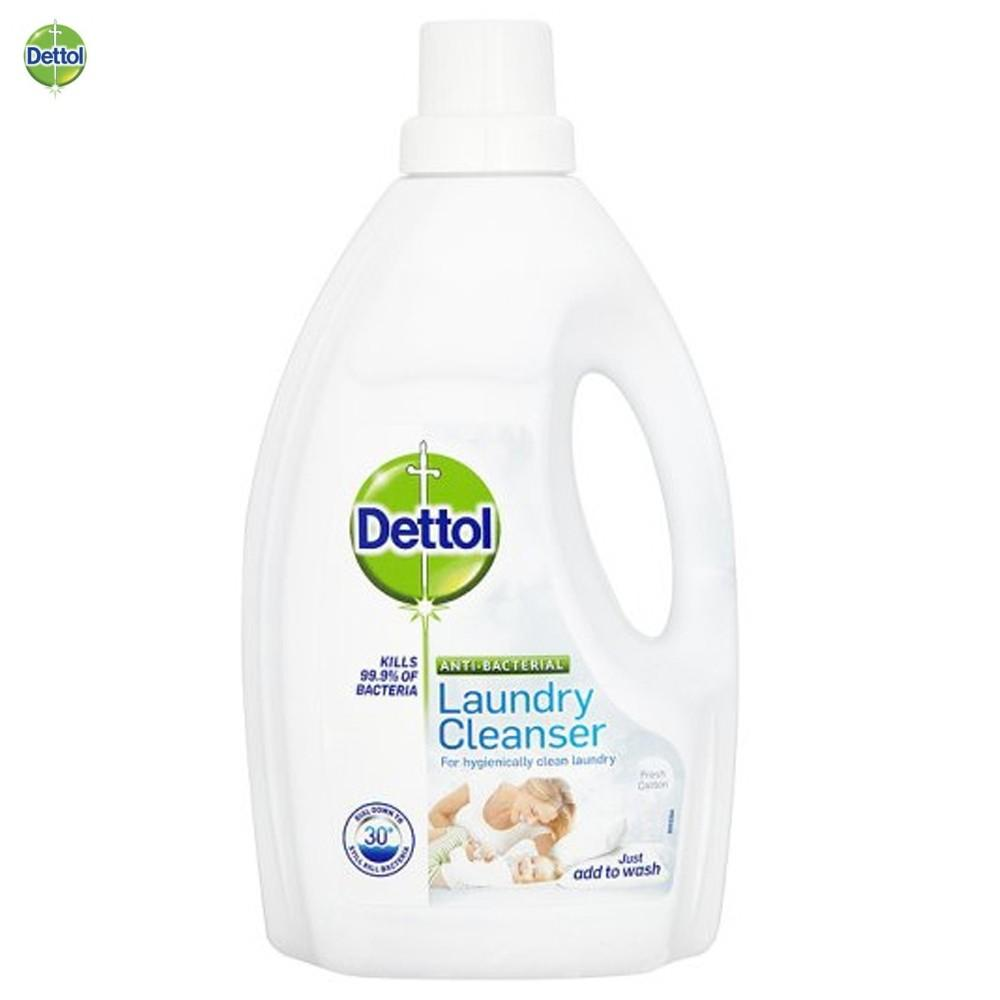 Dettol Anti Bacterial Laundry Cleanser Fresh Cotton 1