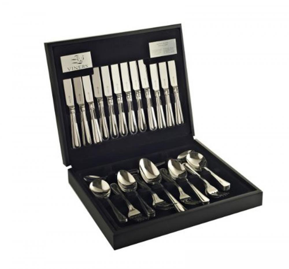 Viners Bead Stainless Steel Canteen Cutlery Set 44pcs 18