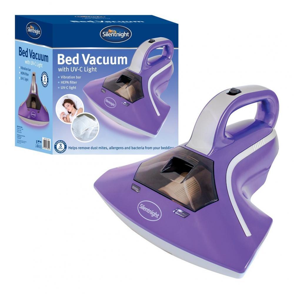 Silentnight VUOTO letto con luce UV-C con piastra di vibrazione 300 W FILTRO HEPA