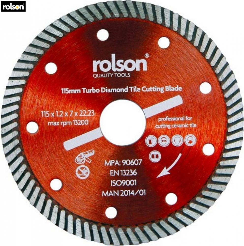 Rolson diamond tile cut blade 115mm diy hand tools accessoty home rolson diamond tile cut blade 115mm diy hand tools accessoty home garage new keyboard keysfo Images