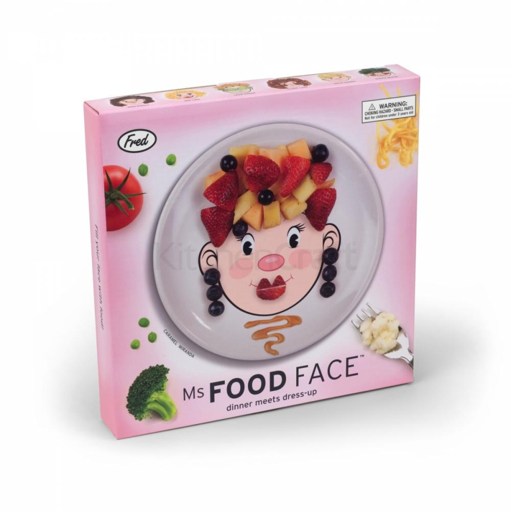 Fred u0026 Friends Ms Food Face Make Faces at the Table Novelty Kids Dinner Plate  sc 1 st  eBay & Fred u0026 Friends Ms Food Face Make Faces at the Table Novelty Kids ...