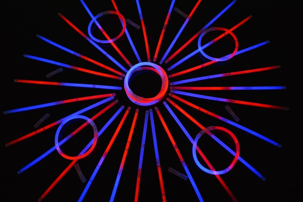 50 20 inch RED GlowStick Necklaces Party Favors SALE