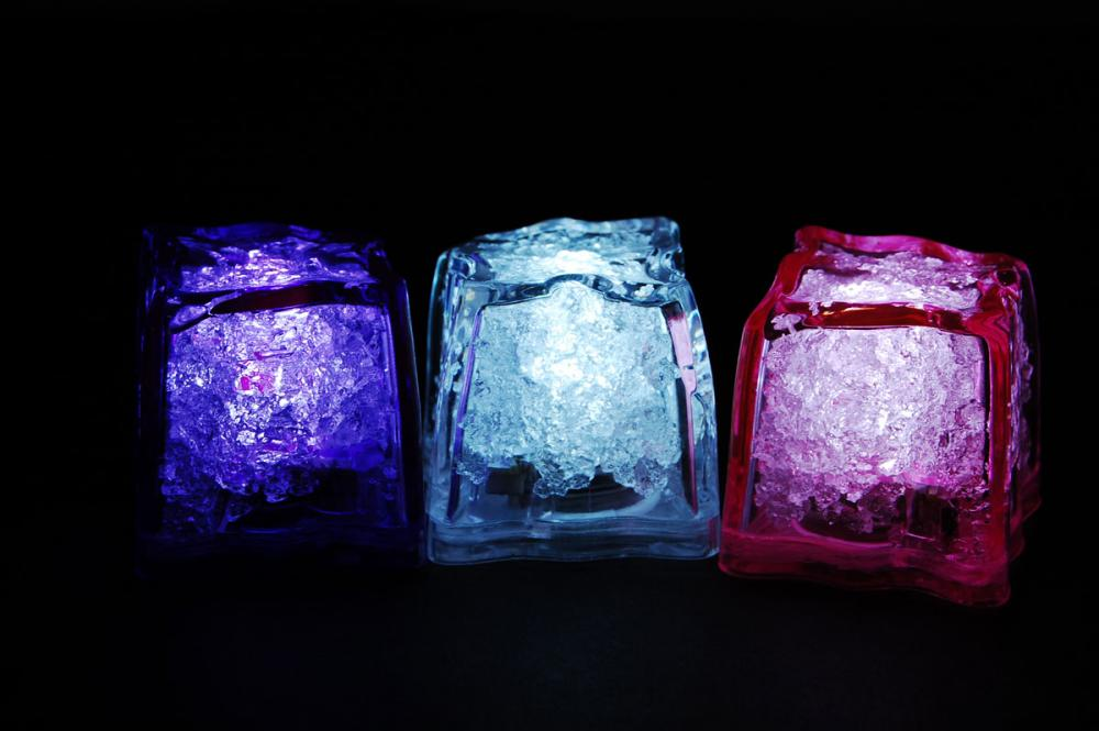 jewel litecubes girls night out pack light up led ice cubes set of 3