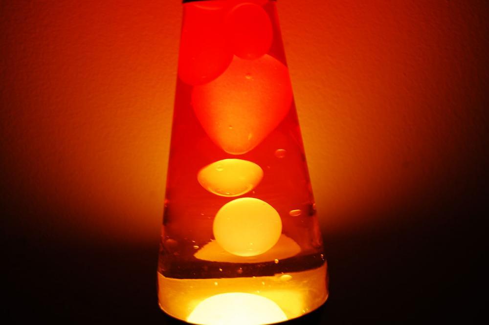 Yellow Lava Lamp