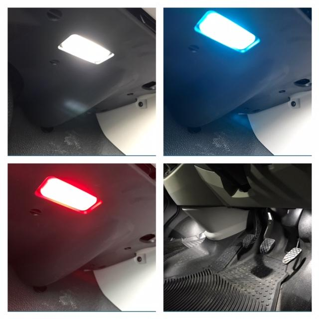 For VW T5 T5.1 T6 Transporter Footwell Led Lights Upgrade