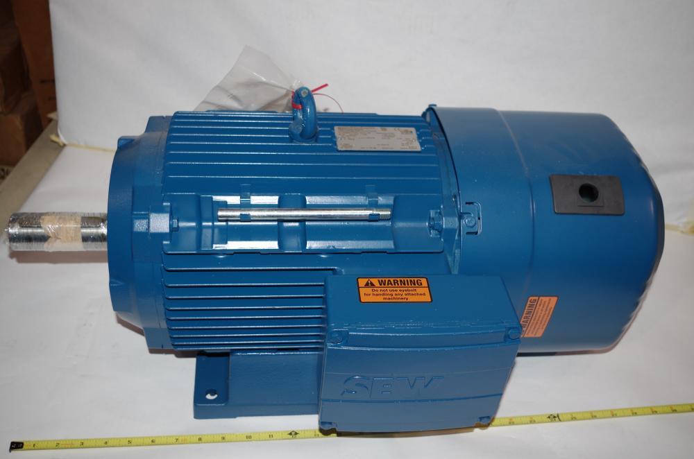 SEW DRS71M4//FL .55kw-.74hp motor 1690rpm  NEW!!