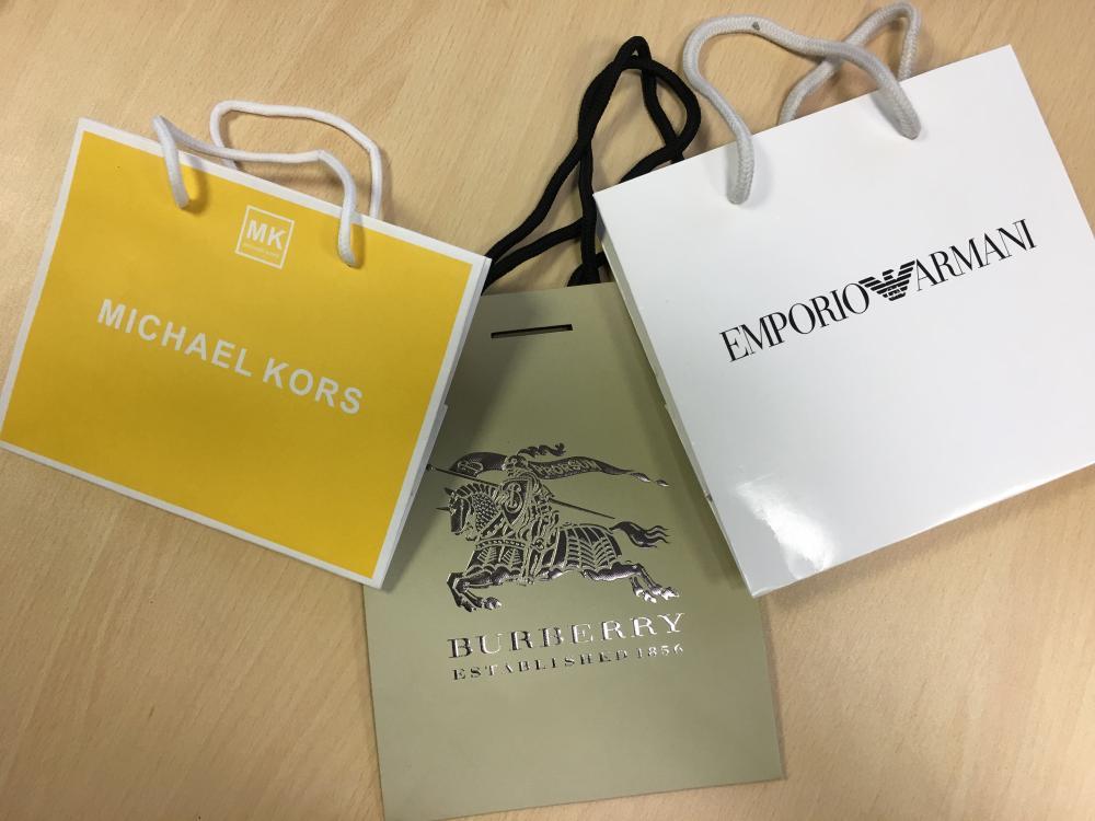 Emporio Armani   Burberry   DW   Michael Kors  Briston Gift Bags! 524f94888817b
