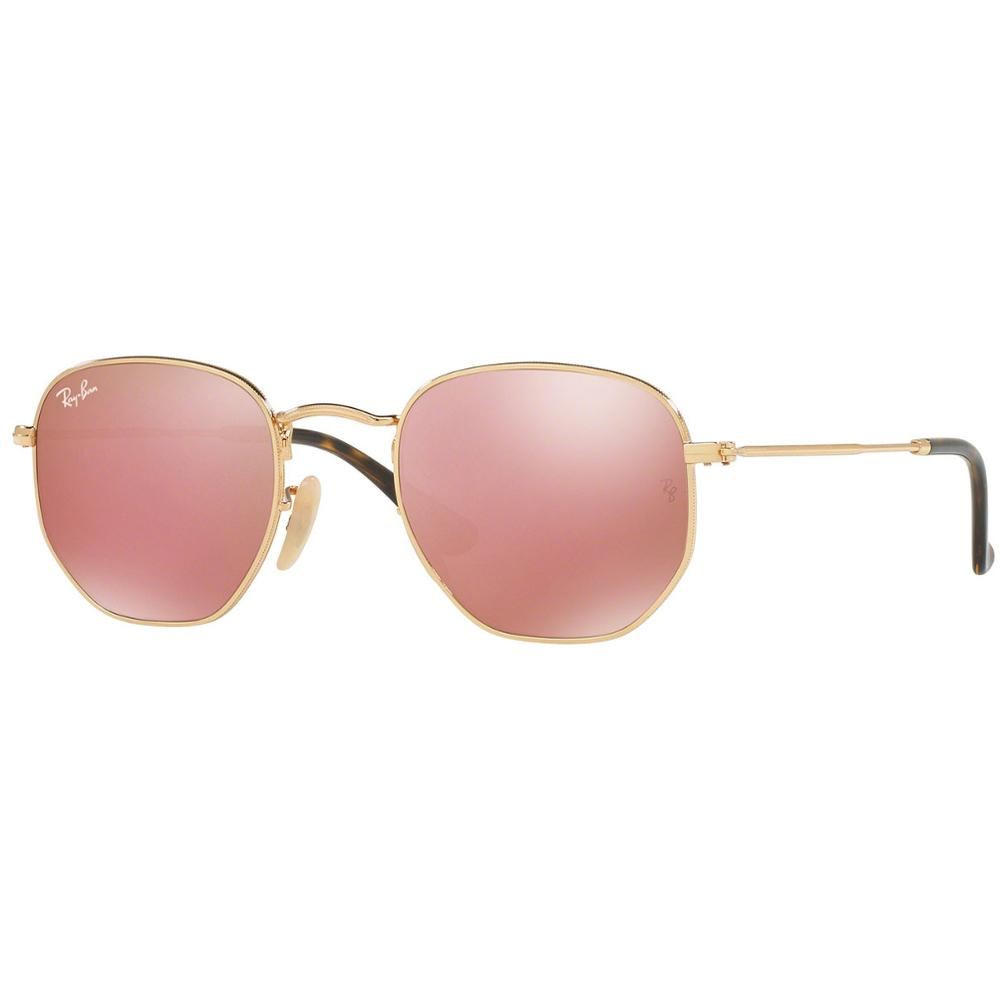 Details about Ray-Ban Sunglasses Hexagonal Copper Flush Lens - Gold Frame - RB3548N  001 Z2 82ea0448a5