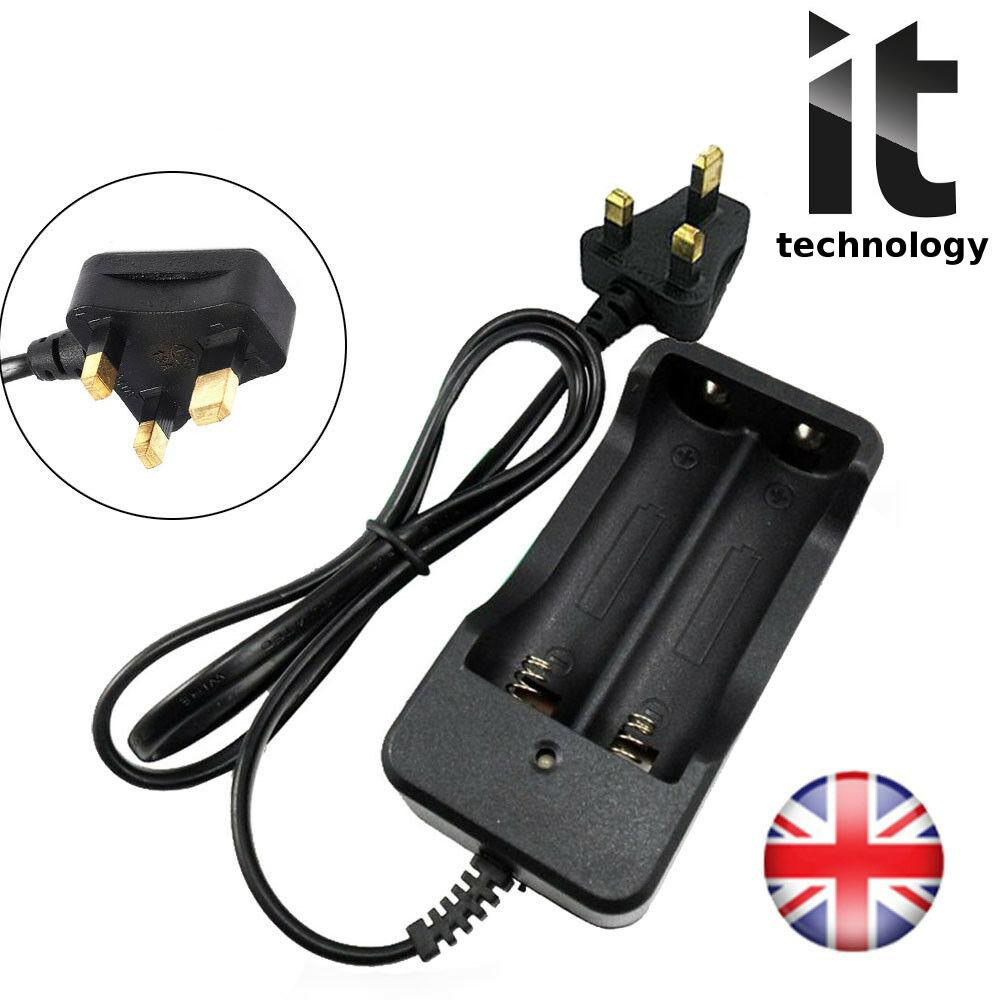 Smart Double 3.7V Battery Charger For 18650 Rechargeabl Li-ion Battery Supply