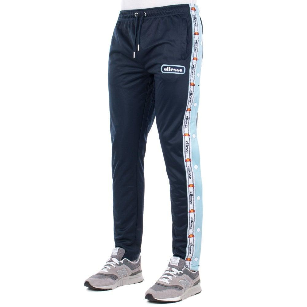 Ellesse Men's Joggers Track Pants Navy Blue Barrason