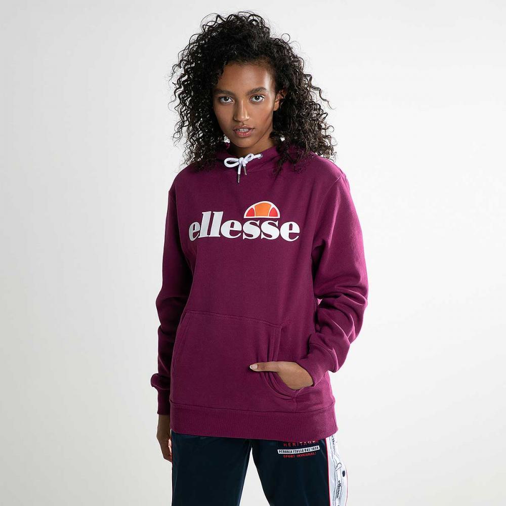 rappresentazione effetto Conservazione  Ellesse Womens Hoodie Logo Overhead Purple Torices Sz 10uk New   eBay