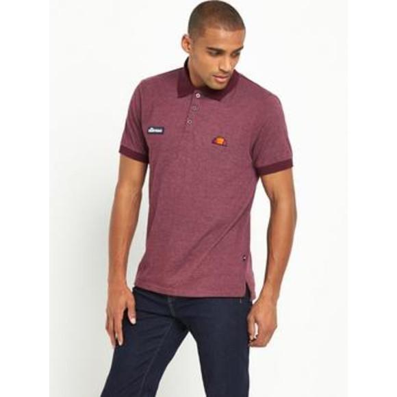 2823180068 Details about Ellesse Men's Polo T Shirt Burgundy Small