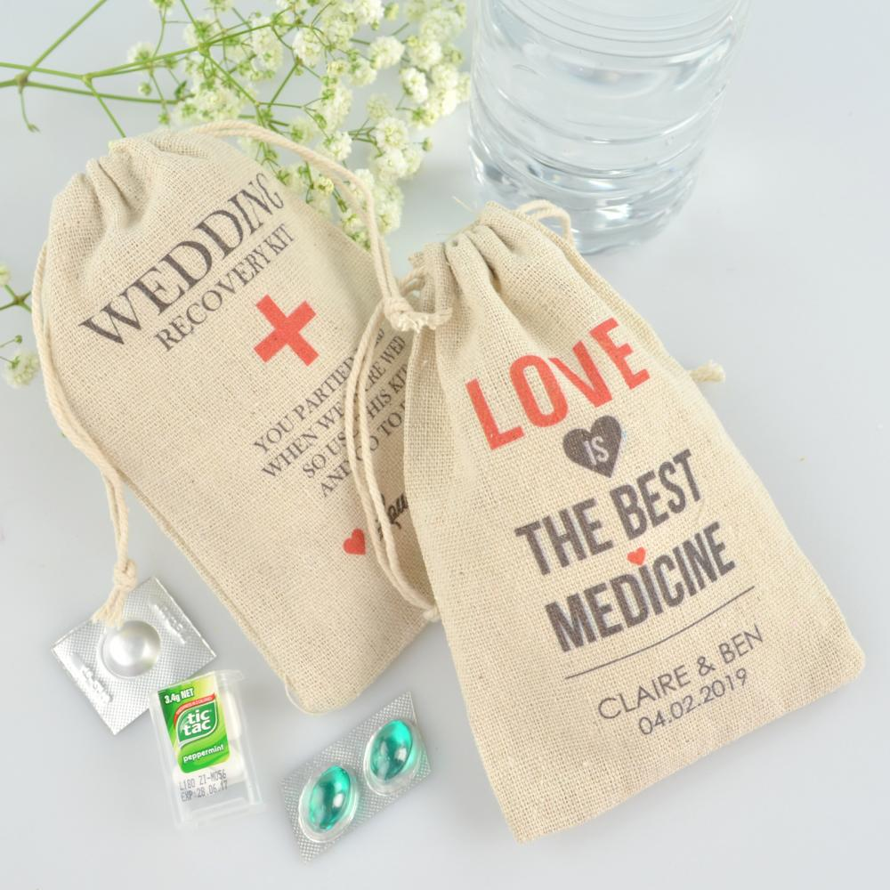 wedding cake bags for guests australia personalised favours wedding day survival kits for guests 21780