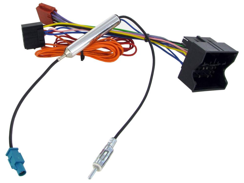 aerial  u0026 iso wiring harness adapter ct20vx04 for  vauxhall