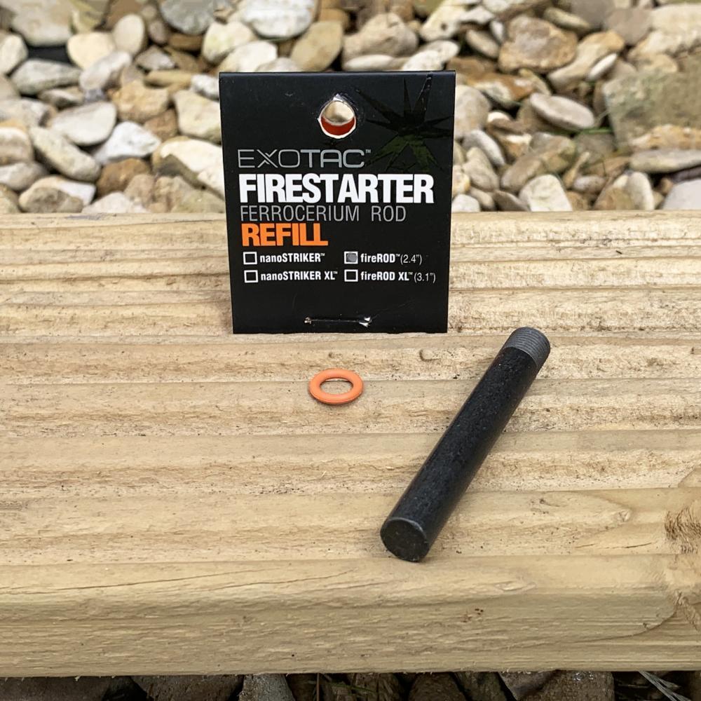 Ferrocerium Ferro Rod Fire Lighting Jacket Toggles Bushcraft Survival Edc