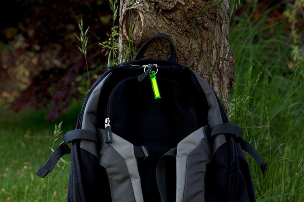 All colours Ni-Glo self glowing kit marker Ideal fishing rucksacks /& Pets