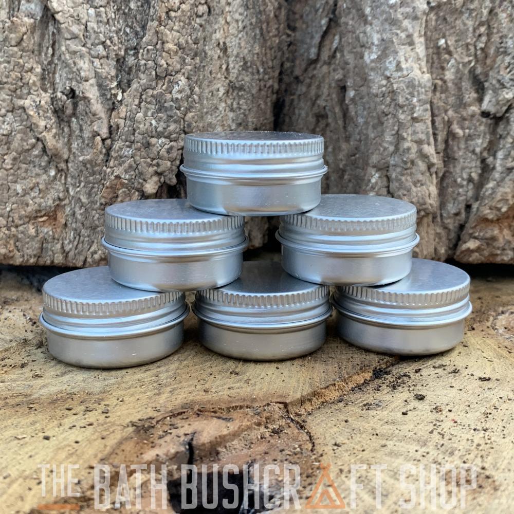 Silber Klapp Tabak Aufbewahrungsdose Auswahl Pack Zunder Set Überleben Bushcraft