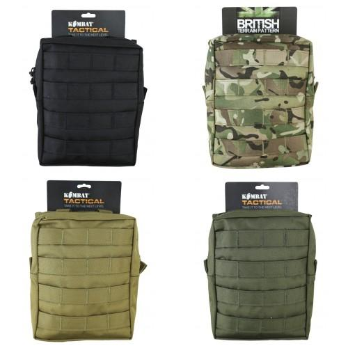 Large cordura molle utility tactical pouch military for How to make a paracord utility pouch