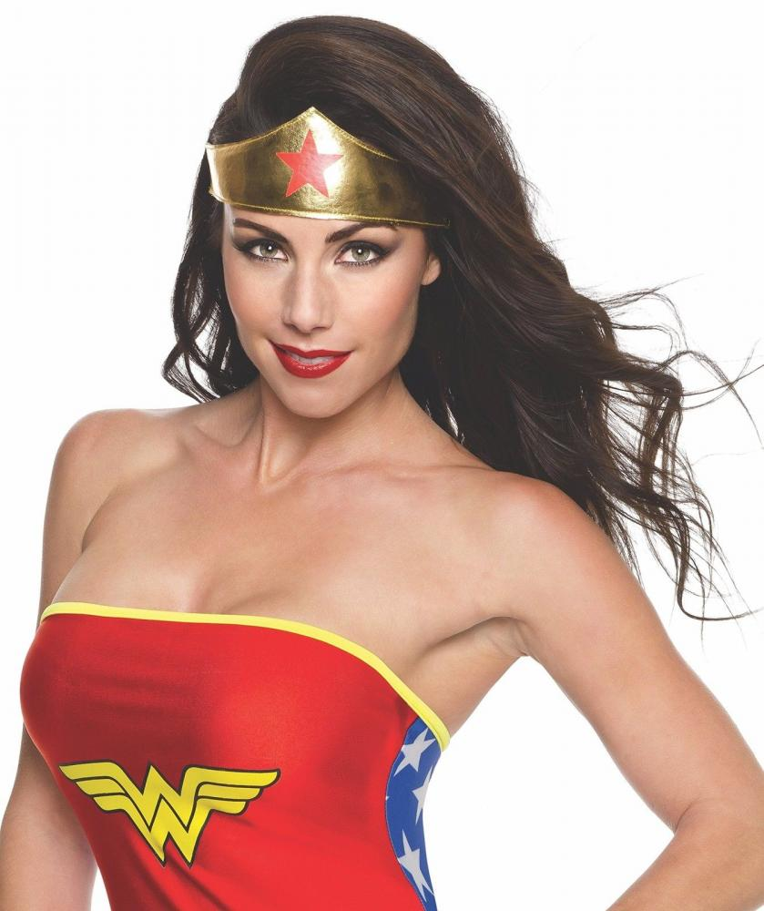 Wonder Woman Čevlji pokrivajo trak za glavo Lasso Adult-4948