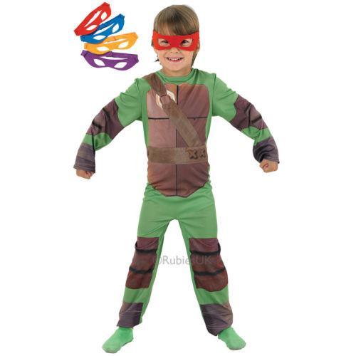 Tortugas Ninja Mutantes Adolescentes Para Niños Disfraz Pequeño 3-4 ...