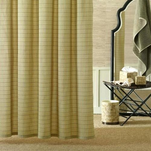 Bon Tommy Bahama Home Palm Desert Bath Shower Curtain *New*