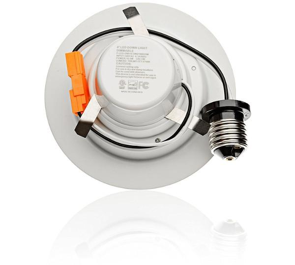 12 X 4 Inch 10 5w Led Downlight Smooth Trim Recessed