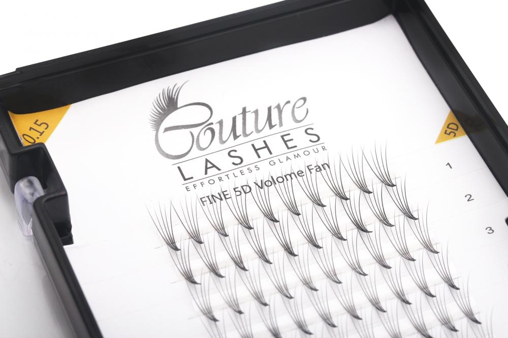Couture 5d Pre Made Volume Lash Fan Russian Volume Semi Permanent