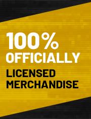 100% Official Merchandise