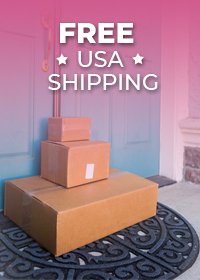 Free Shipping For All US Orders