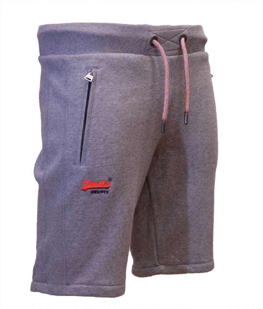 48e6d00ad9 Superdry New Mens Summer Orange Label Cali Jogger Sweat Shorts Black Grey
