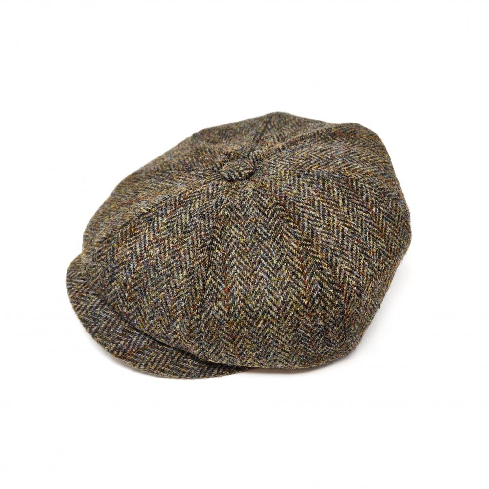 5748b6c7e Details about Failsworth Carloway Harris Tweed Hat 8-Panel Men's Peaky  Blinders Wool Cap