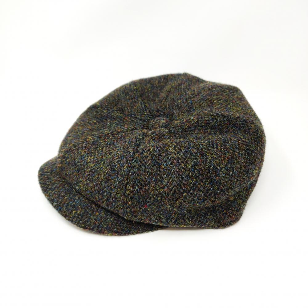 6ac454d25 Failsworth Carloway Harris Tweed Hat 8-Panel Men's Peaky Blinders ...