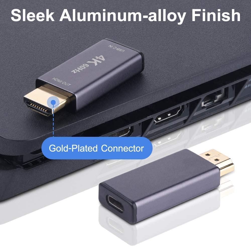 USB 3.1 Type C Input to HDMI Output Converter 4K 60Hz USBC ...